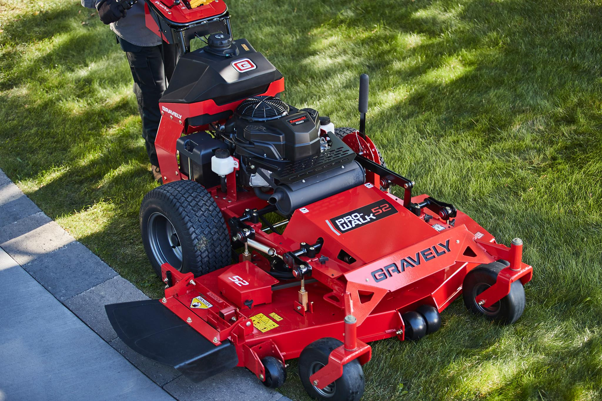 Gravely Pro-Walk Mower closeup in Lancaster, NH