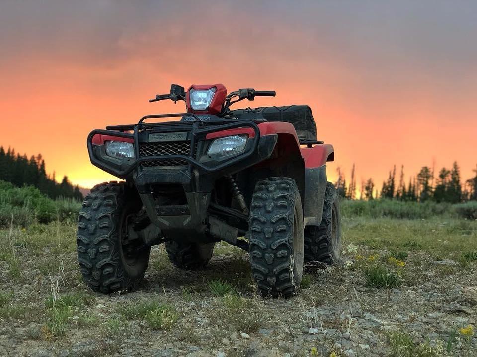 Honda ATV Sunset