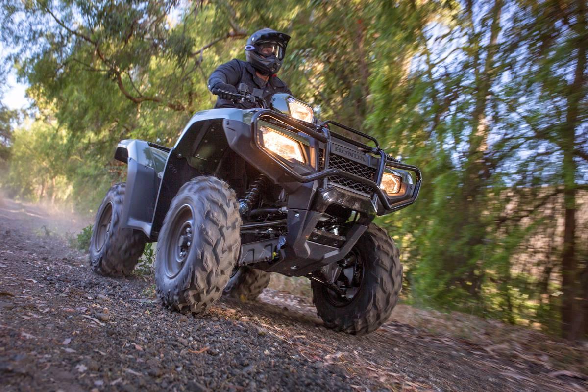 Honda ATV Woods