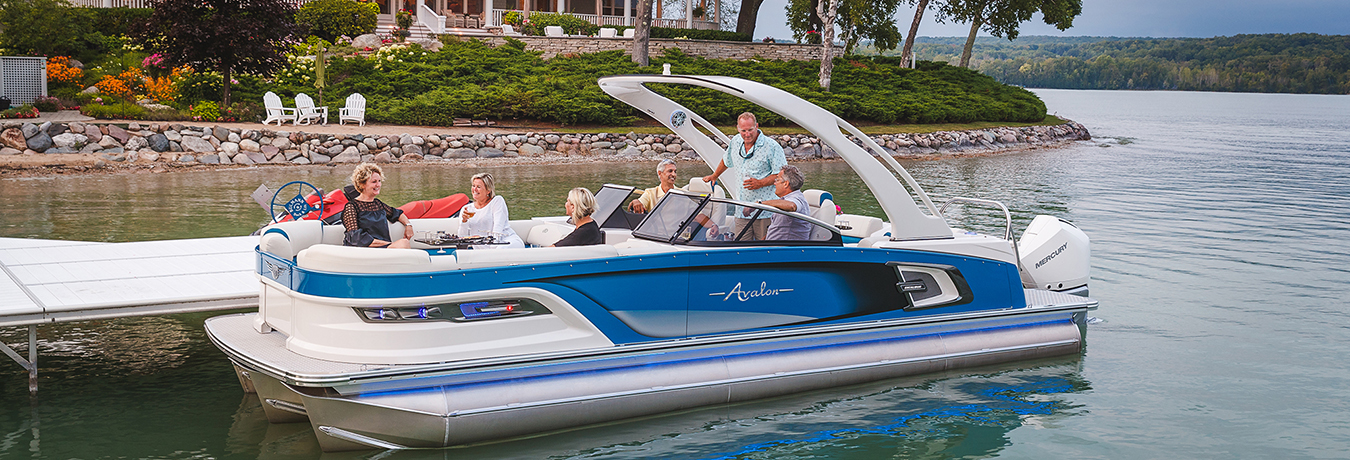 Avalon Pontoon Boat