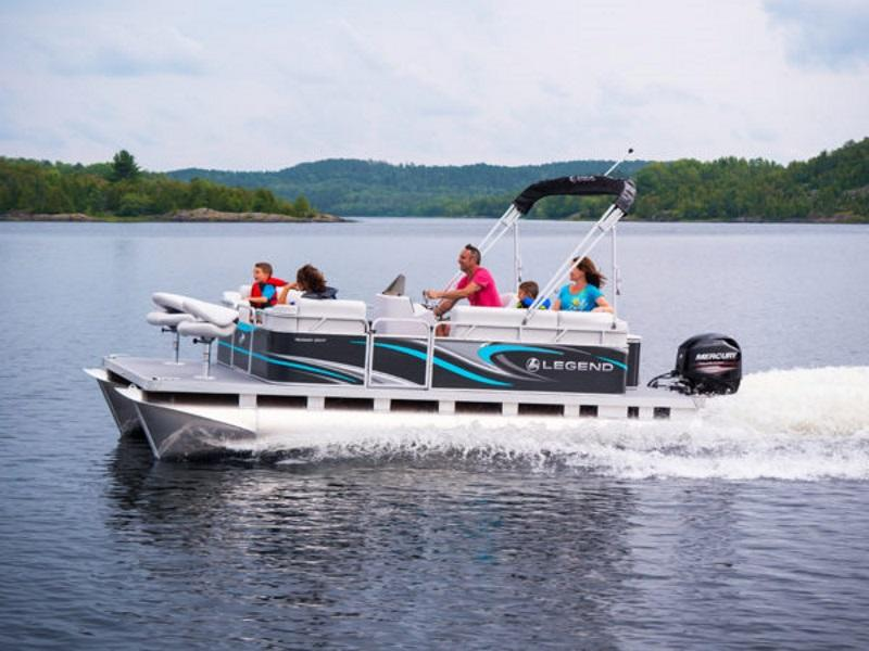 2019 Legend Splash EXT Pontoon boat