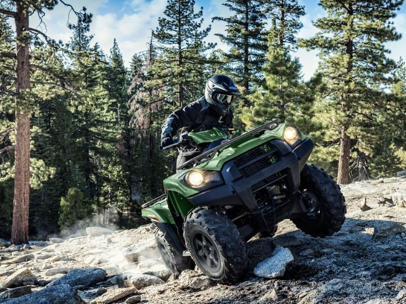 2019 Kawasaki® Brute Force® 750 on a trail