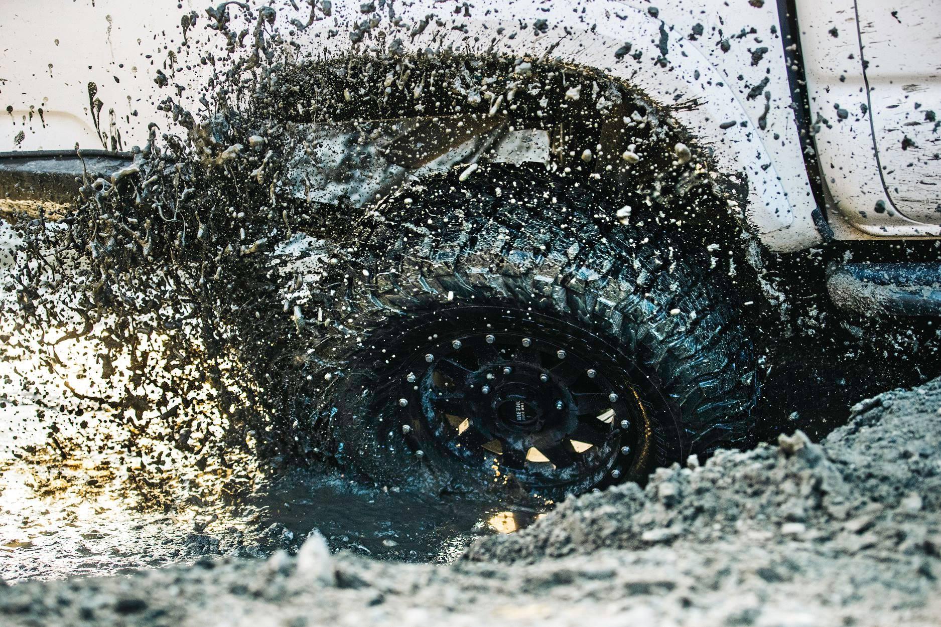 BF Goodrich Stuck in Mud Anchorage