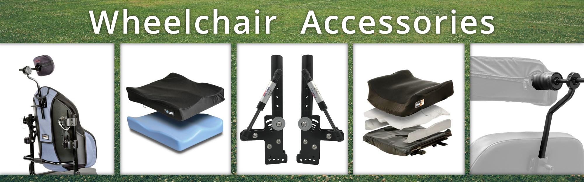 Wheelchair Accessories lineup