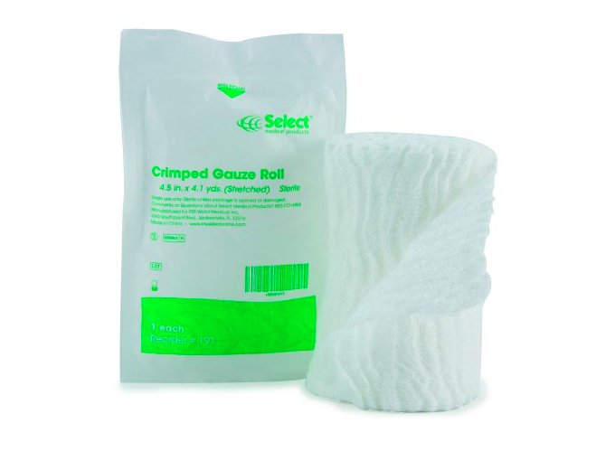 Select Crimped Gauze Roll