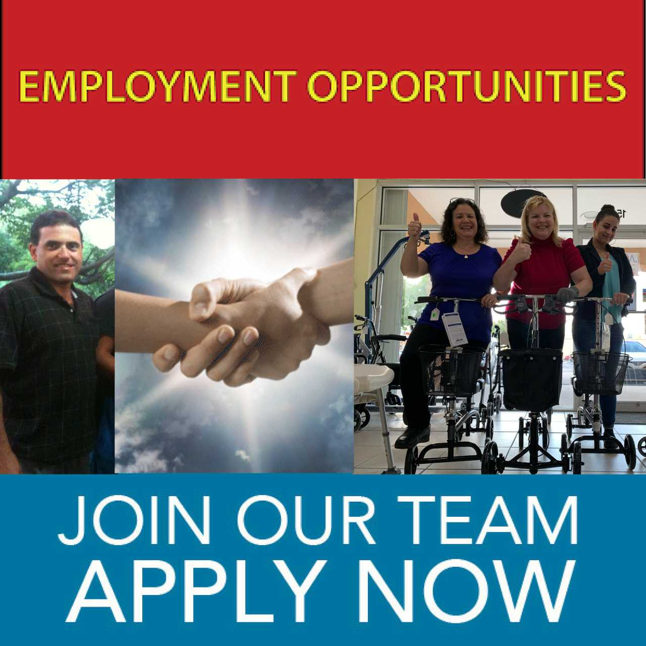 Employment, Join Out Team, Apply Now