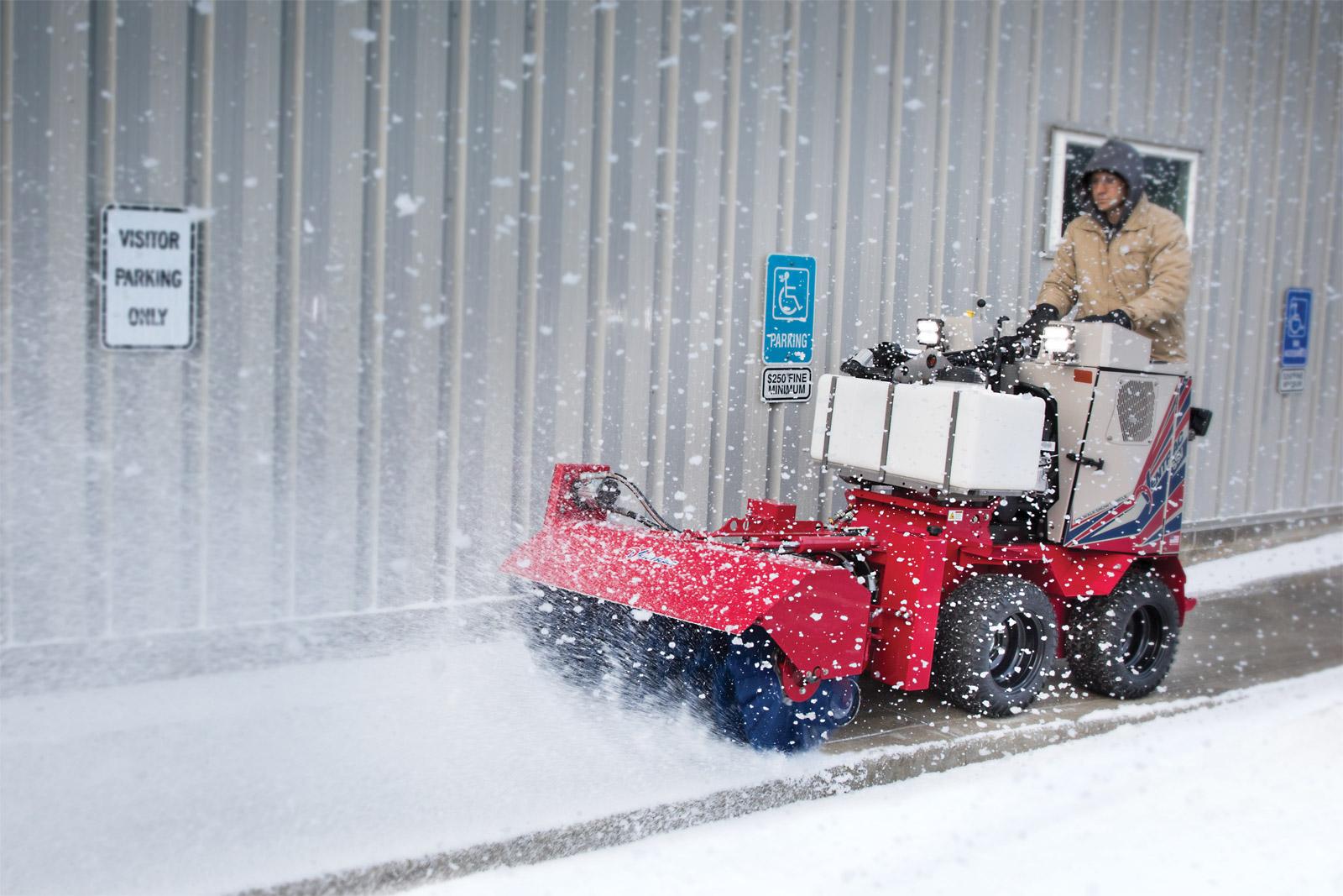 Ventrac Sidewalk Snow Vehicle Bison Turf Equipment, Inc