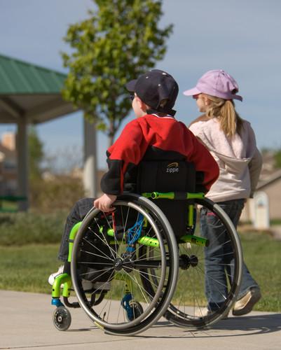 Youth in Custom Manual Wheelchair
