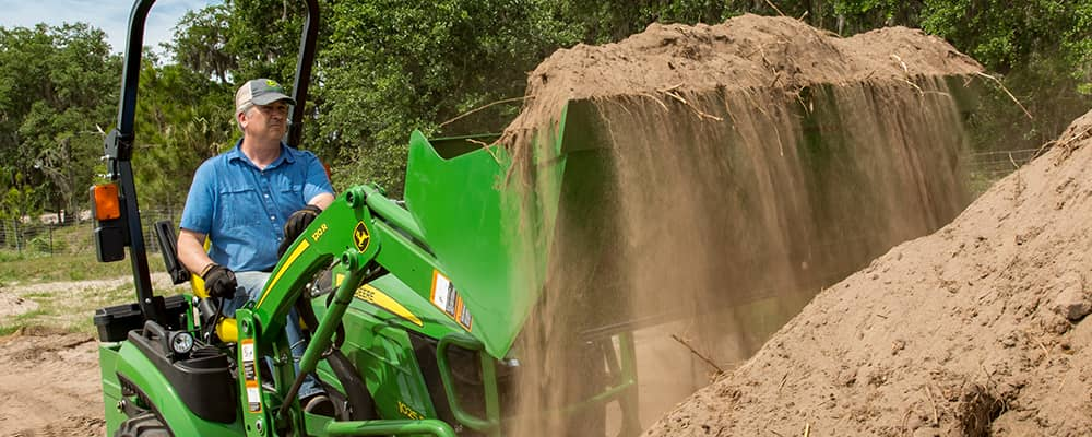 John Deere - The Quik-Park™ Loader Mounting System