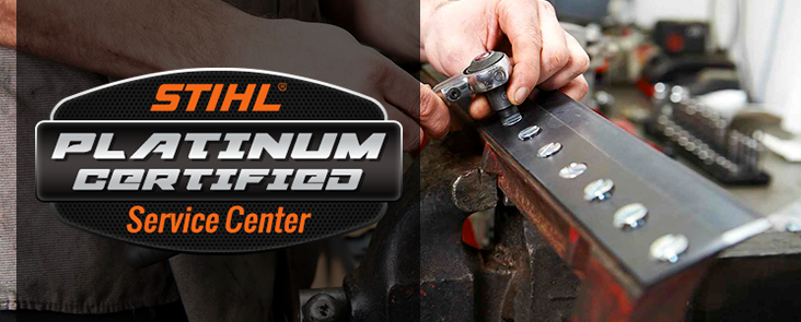 STIHL Platinum Certified Service Center