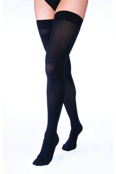 Jobst black compression stockings